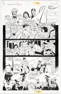 Paul Ryan and Chris Ivy Superman Annual #10 Story Page 14 Original Art (DC Comics, 1998)