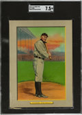 Baseball Cards:Singles (Pre-1930), 1910-11 T3 Turkey Red Ty Cobb #9 Checklist Back (Offer) SGC NM+ 7.5....