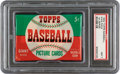 Baseball Cards:Other, 1952 Topps Baseball 1st Series 5-Cent Wax Pack, PSA NM 7....