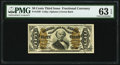 Fractional Currency:Third Issue, Fr. 1339 50¢ Third Issue Spinner Type II PMG Choice Uncirculated 63 EPQ.. ...