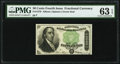 Fractional Currency:Fourth Issue, Fr. 1379 50¢ Fourth Issue Dexter PMG Choice Uncirculated 63 EPQ.. ...