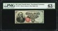 Fractional Currency:Fourth Issue, Fr. 1376 50¢ Fourth Issue Stanton PMG Choice Uncirculated 63 EPQ.. ...