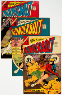 Thunderbolt #53-58, and 60 Group (Charlton, 1966-67) Condition: Average VF+.... (Total: 7 )