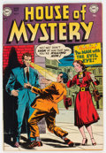 Golden Age (1938-1955):Horror, House of Mystery #4 (DC, 1952) Condition: FN-....