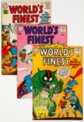 Silver Age (1956-1969):Superhero, World's Finest Comics Group of 8 (DC, 1960-67) Condition: Average FN/VF.... (Total: 8 )