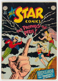 All Star Comics #50 (DC, 1949) Condition: VG