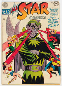 All Star Comics #52 (DC, 1950) Condition: VG-