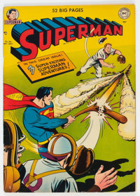 Superman #66 (DC, 1950) Condition: VG/FN