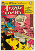 Golden Age (1938-1955):Superhero, Action Comics #186 (DC, 1953) Condition: VG+....