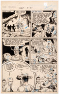 Original Comic Art:Panel Pages, Robert Webb and the S.M. Iger Studio Jumbo Comics #63 and Sheena Queen of the Jungle #6 Original Art P...