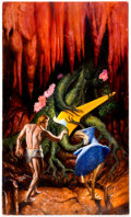 Original Comic Art:Paintings, Kevin Eugene Johnson - Original Painting (1985)...