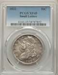 Bust Half Dollars: , 1832 50C Small Letters XF45 PCGS. PCGS Population: (505/1980). NGC Census: (240/1333). CDN: $175 Whsle. Bid for NGC/PCGS XF...