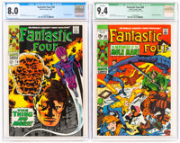Fantastic Four #78 and 89 CGC-Graded Group (Marvel, 1968-69).... (Total: 2 Comic Books)
