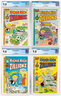 Modern Age (1980-Present):Humor, Richie Rich Zillionz CGC-Graded File Copies Group of 4 (Harvey, 1980-82) CGC NM/MT 9.8.... (Total: 4 Comic Books)