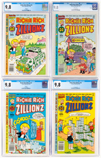 Richie Rich Zillionz CGC-Graded File Copies Group of 4 (Harvey, 1980-82) CGC NM/MT 9.8.... (Total: 4 Comic Books)