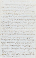 """Books:Religion & Theology, [Mormons]. [Record of a Meeting in Preparation to Relocate to the Great Basin]. [Pottawattamie County, Iowa]: """"Sunday mornin..."""