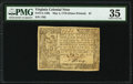 Colonial Notes:Virginia, Virginia May 4, 1778 (Dates Printed) $7 PMG Choice Very Fine 35.. ...