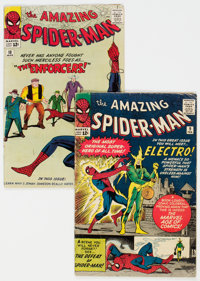 The Amazing Spider-Man #9 and 10 Group (Marvel, 1964) Condition Average VG-. ... (Total: 2 Comic Books)