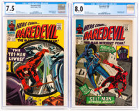 Daredevil #22 and 26 CGC-Graded Group (Marvel, 1966-67).... (Total: 2 Comic Books)