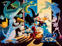 Carl Barks Halloween in Duckburg Signed Limited Edition Lithograph #10/350 (Another Rainbow, 1992). ... (Total: 2 Items)