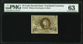 Fractional Currency:Second Issue, Fr. 1244 10¢ Second Issue PMG Choice Uncirculated 63.. ...