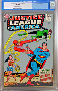Justice League of America #25 (DC, 1964) CGC FN+ 6.5 Off-white to white pages