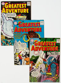 My Greatest Adventure Group of 4 (DC, 1960) Condition: Average VF.... (Total: 4 Comic Books)