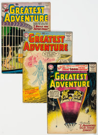 My Greatest Adventure Group of 12 (DC, 1956-60) Condition: Average VG.... (Total: 12 Comic Books)