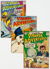Strange Adventures Group of 12 (DC, 1957-62) Condition: Average FN.... (Total: 12 Comic Books)