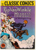 Golden Age (1938-1955):Classics Illustrated, Classic Comics #12 Rip Van Winkle and The Headless Horseman - First Edition (Gilberton, 1943) Condition: VG....