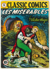 Classic Comics #9 Les Miserables (1A) First Edition (Gilberton, 1943) Condition: VG