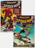 Silver Age (1956-1969):Superhero, Amazing Spider-Man #39 and 40 UK Editions Group (Marvel, 1966) Condition: Average FN.... (Total: 2 Comic Books)