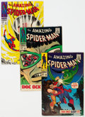 Silver Age (1956-1969):Superhero, The Amazing Spider-Man Group of 9 (Marvel, 1966-69) Condition: Average VG/FN.... (Total: 9 Comic Books)