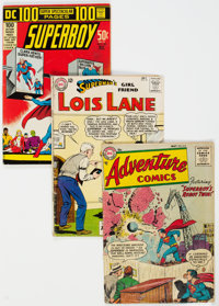 Superman-Related Group of 20 (DC, 1955-77) Condition: Average VG.... (Total: 20 )