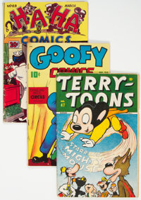 Golden Age Funny Animal Comics Group of 21 (Various Publishers, 1940s-50s) Condition: Average VG.... (Total: 21 Comic Bo...