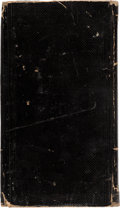 Miscellaneous:Ephemera, Abraham Lincoln: 1865 Soldiers Assassination Diary....