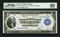 Fr. 729 $1 1918 Federal Reserve Bank Note PMG Extremely Fine 40