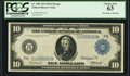 Fr. 928 $10 1914 Federal Reserve Note PCGS Choice New 63