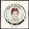 "Baseball Collectibles:Pins, 1952 Hawthorne Mellody ""Club of Champs"" Bill Pierce Pin. ..."