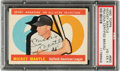 Autographs:Sports Cards, Signed 1960 Topps Mickey Mantle #563 PSA/DNA VG-EX 4.