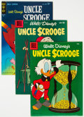 Golden Age (1938-1955):Humor, Uncle Scrooge Group of 22 (Dell, 1966-76) Condition: Average VG/FN.... (Total: 22 Comic Books)