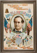 """Political:Posters & Broadsides (1896-present), William Jennings Bryan: The Iconic """"Octopus"""" Poster from the 1900 Election...."""