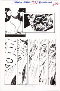 Steve Rude The Man of Steel #2 Story Page 19 (DC Comics, 2018)