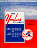 Baseball Collectibles:Programs, 1958 New York Yankees Team Signed Yearbook (29 Signatures). ...