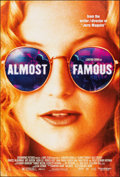 "Movie Posters:Drama, Almost Famous (DreamWorks, 2000). Rolled, Very Fine/Near Mint. One Sheet (27"" X 40"") SS. Drama.. ..."