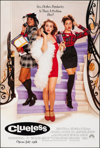 """Clueless & Other Lot (Paramount, 1995). Rolled, Near Mint. One Sheets (2) (27"""" X 40"""") DS Advance. Come..."""