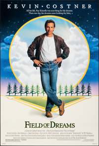 "Field of Dreams (Universal, 1989). Rolled, Very Fine/Near Mint. One Sheet (26.75"" X 39.75"") SS. Fantasy"
