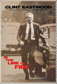 "In the Line of Fire (Columbia, 1993). Rolled, Very Fine/Near Mint. Printer's Proof One Sheets (2) (28"" X 41"")..."
