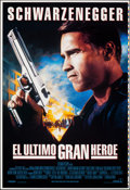 Movie Posters:Action, Last Action Hero & Other Lot (Columbia, 1993). Rolled, Very Fine/Near Mint. Spanish Language Printer's Proof One Sheets (2) ... (Total: 2 Items)
