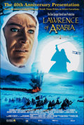 "Movie Posters:Academy Award Winners, Lawrence of Arabia (Columbia, R-2002). Rolled, Near Mint. 40th Anniversary One Sheet (26.75"" X 39.75""). DS. Academy Award Wi..."